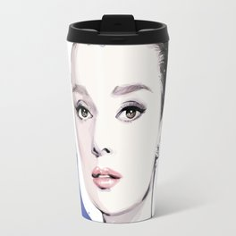 Vogue Fashion Illustration #17 Travel Mug