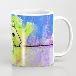 Dog No.1c by Kathy Morton Stanion Coffee Mug