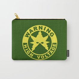 Warning High Voltage Carry-All Pouch