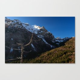 A view from Šupca outloook, Slovenia Canvas Print