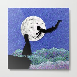 fly me to the moon 1 Metal Print
