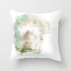 Silence #1 Throw Pillow