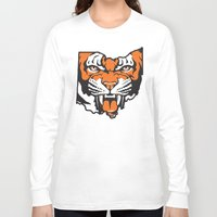 ohio state Long Sleeve T-shirts featuring Ohio Bengal by Griggitees