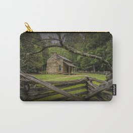 Oliver Log Cabin in Cade's Cove Carry-All Pouch