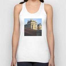 A little bit of Paris Unisex Tank Top