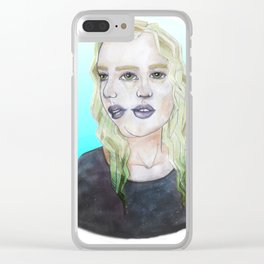 Self Discovery Clear iPhone Case