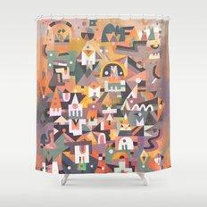 Schema 13 Shower Curtain