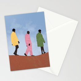 Five men Stationery Cards