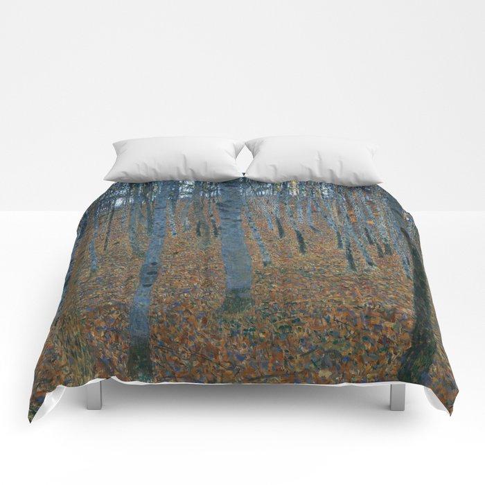 Gustav Klimt - Beech Grove Comforters