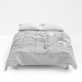 Atlas of the World Comforters