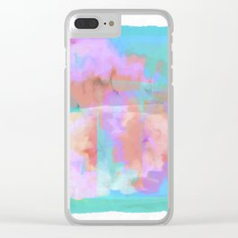 Abstract vg 01 Clear iPhone Case