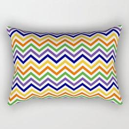Chevron Multicolor Rectangular Pillow