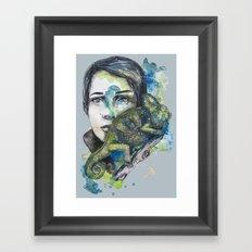 cameleon by carographic Framed Art Print
