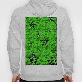 Green Toxic Stars Hoody