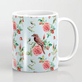 Fall in love. Watercolor Coffee Mug