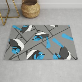 Blue Wrens Rug