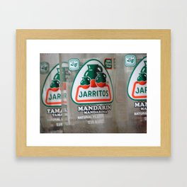 Jarritos Framed Art Print