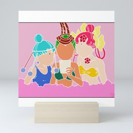 Palla Palla, Jun Jun, and Cere Cere Mini Art Print