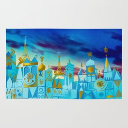 It's a Small World Rug
