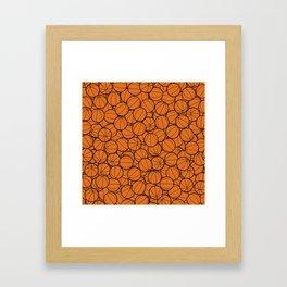 Hoop Dreams II Framed Art Print