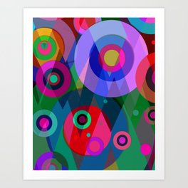 Abstract #952 Art Print