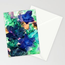 Moonbeam Flowers Stationery Cards