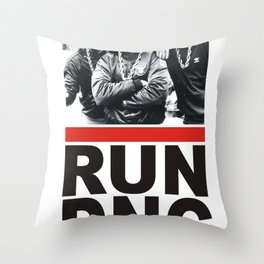 RUN DNC Throw Pillow