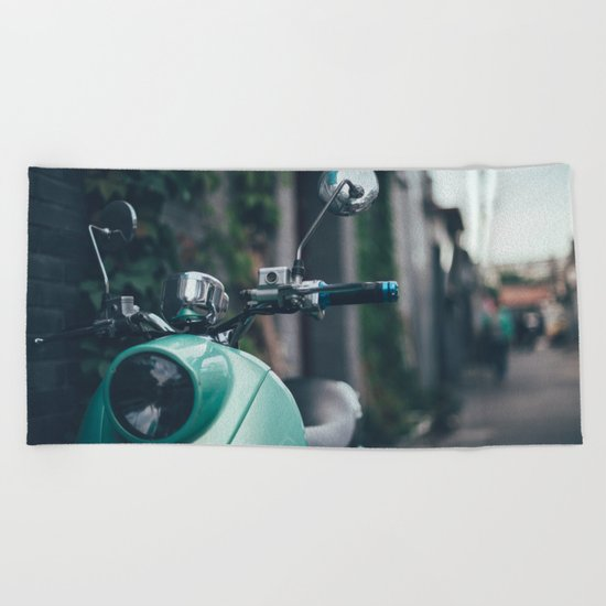Lovely bike Beach Towel