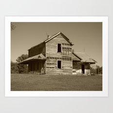 Abandoned house 2016 II Art Print