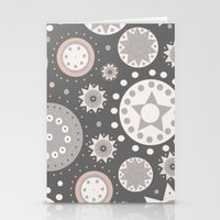 milky way Stationery Cards featuring Milky Way by Moon Rabbit Design