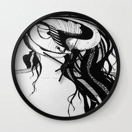 modern hippie Wall Clock