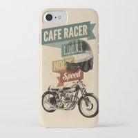cafe racer iPhone & iPod Cases featuring cafe racer by Liviu Antonescu