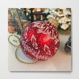 Christmas ornament 1 Metal Print