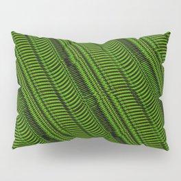 Lime Line Pillow Sham
