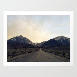 Getting Away Art Print