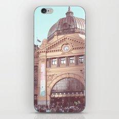 Flinders Street Station, Melbourne, Australia iPhone Skin