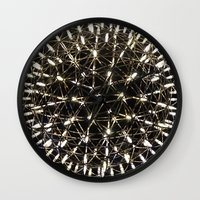 chandelier Wall Clocks featuring Chandelier by waggytailspetportraits