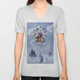 Sweet Castle Unisex V-Neck