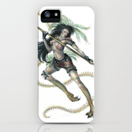 Marukyd - Warrior iPhone Case