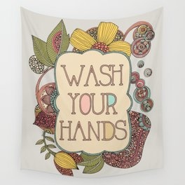 Wash your hands Wall Tapestry