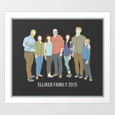 Elliker Family Art Print