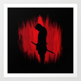 The way of the samurai warrior Art Print