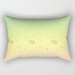Lady Octopus with handbag pattern Rectangular Pillow
