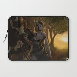 Archer Checking The Surroundings Laptop Sleeve
