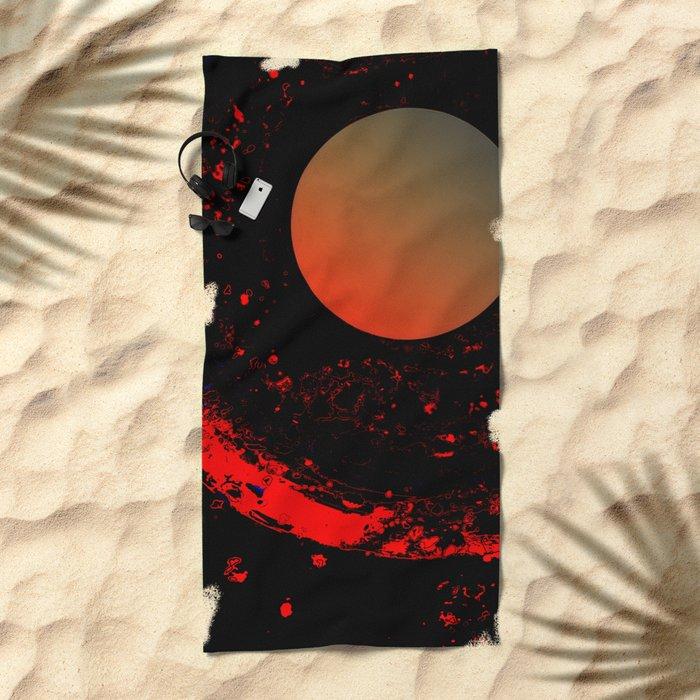 Dust 03 - Post Biological Universe Beach Towel