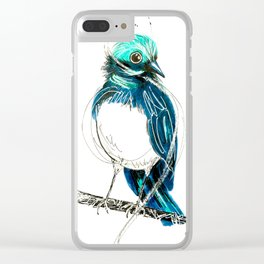 Wagtails 2. Clear iPhone Case