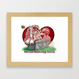 Neverlasting Love Framed Art Print