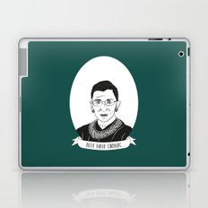 Ruth Bader Ginsburg Illustrated Portrait Laptop & iPad Skin