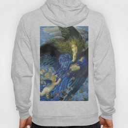 Night with her Train of Stars by Edward Robert Hughes Hoody