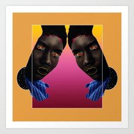 Woman of Color Art Print